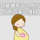妊産婦死亡の原因と死亡率の推移