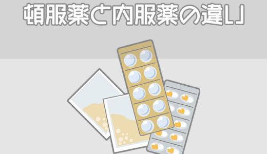 頓服薬と内服薬の違い、分服や頓用の意味【超重要】