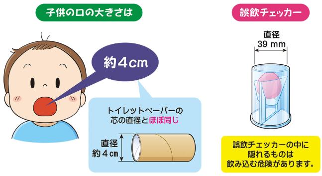 「えっ?そんな小さいもので?」子供の窒息事故を防ぐ!_暮らしに役立つ情報_政府広報オンライン